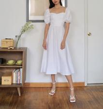 REFORMATION Rhode Dress White Size 4 Orig. $248 NWT