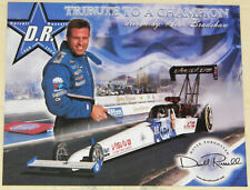 """VINTAGE 2004 """"DARRELL RUSSELL TRIBUTE"""" TOP FUEL DRAGSTER DRAG RACING HANDOUT!!!"""