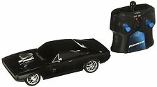 Jada Fast & Furious Movie Remote Control 1970 Dodge Charger RT 1:26 Black*New!