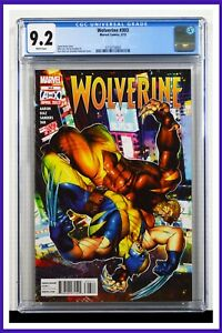 Wolverine #303 CGC Graded 9.2 Marvel May 2012 White Pages Comic Book.