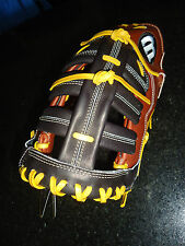 "WILSON A2K PRO STOCK SELECT 2800 FIRST BASE (1B) MITT / GLOVE 12"" LH  $359.99"