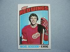 1976/77 TOPPS NHL HOCKEY CARD #71 MICHEL BERGERON ROOKIE NM SHARP!! 76/77