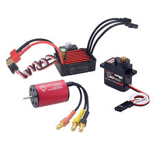 Waterproof Brushless Motor 25A ESC Combo for RC  Car Vehicle Model