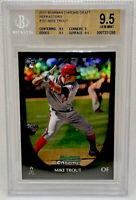 2011 Bowman Chrome Draft Mike Trout RC Refractor BGS 9.5 Possible PSA 10