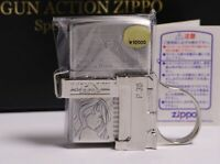 ZIPPO LUPIN THE THIRD GUN ACTION SPECIAL LIMITED EDITION FUJIKO 03672
