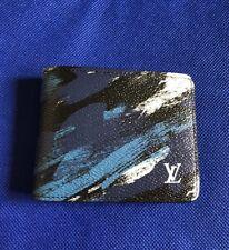 Louis Vuitton - Men's Slender Wallet Camouflage Blue M61748