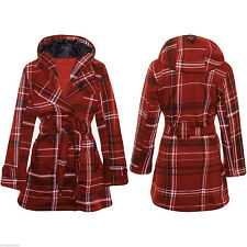 Unbranded Cotton Hip Length Button Coats & Jackets for Women