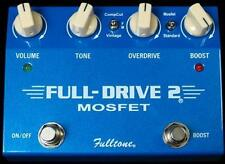 NEW FULLTONE FULLDRIVE 2 OVERDRIVE PEDAL + BOOST w/ FREE SHIPPING
