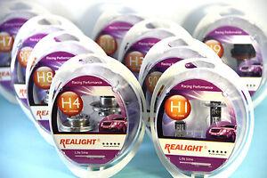 Super Bright White Xenon Headlight Globes Package for Mitsubishi Pajero NS NT