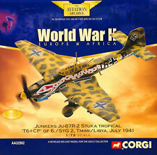 Corgi Aviation AA32502 Junkers Ju 87r Stuka 6./stg 2 Tmimi Libya 1941 EX Shop