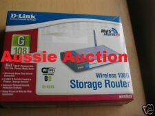 D-link AirPlus Xtreme 108Mbps Wireless Storage Router