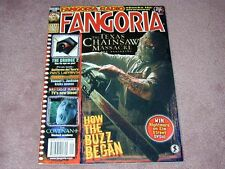 FANGORIA # 256, Texas Chainsaw Massacre - The Beginning, FREE SHIPPING in USA