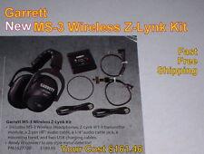 New Garrett Ms-3 Wireless Z-Lynk Headphone Kit for Metal Detector Free Shipping