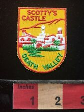 Vtg SCOTTY'S CASTLE DEATH VALLEY California Patch 69Y1