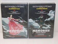 Memories Episodes 1 & 3 - Macintosh Cd-Rom - Anime Art Gallery Production Design