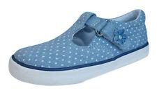 Chaussures bleus avec attache auto-agrippant pour fille de 2 à 16 ans