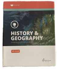 Lifepac 6th Grade History & Geography Set World Geography Homeschool~ Incomplete