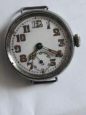 World War 1 Silver Officer Trench Watch