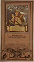 1939 Rare B&B Norman Rockwell Boy Scout Scouting Trail Adv. Calendar w/ Envelope