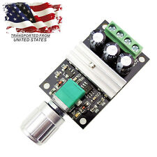 6V 12V 24V 3A PWM DC Motor Speed Controller Speed Control Module Switch US