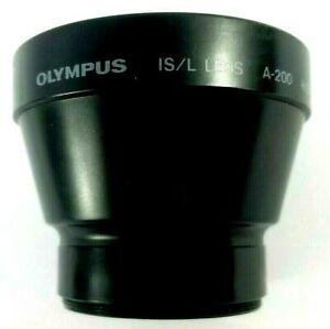 Olympus Lens A-200 IS/L HQ Converter 1.5X  49mm Japan W/ Lens Cover
