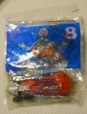 McDONALD'S HAPPY MEAL TOY HOT WHEELS  SALTFLAT RACER RED CAR #8  2001 NOS