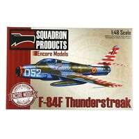 Encore Models 48006 F-84F Thunderstreak 1/48 Scale LE Plastic Aircraft Model Kit