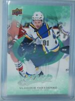 2016-17 Upper Deck MVP Green Script #252 Vladimir Tarasenko St. Louis Blues