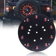 Red Jeep Wrangler 3rd Brake Light, LED Spare Tire Lights Brake Light JK JKU
