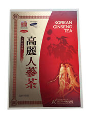 Korean Ginseng Tea - 100 Tea bags - Sealed in Wooden Case