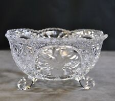 Crystal Footed Bowl with Hummingbird Design (MMO)