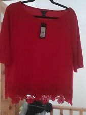 Womens new look top size 18