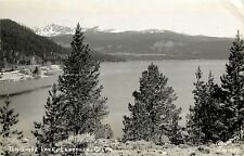 c1950 Real Photo PC; Turquoise Lake, Leadville CO Lake County Sanborn posted