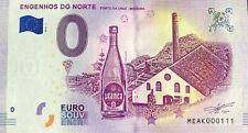 BILLET 0 EURO  ENGENHOS DO NORTE PORTUGAL 2018-1 NUMERO 111