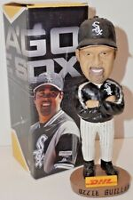 OZZIE GUILLEN CHICAGO WHITE SOX MANAGER CERAMIC BOBBLEHEAD WITH ORIGINAL BOX