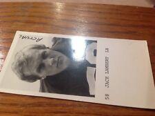 "1974 JACK LAMBERT Pittsburgh Steelers ROOKIE 1.5x2.5"" Yearbook PROMO Photo  RARE"