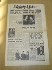 MELODY MAKER 1950 MARCH 4 RONNIE O'DELL BUTLINS FELIX KING COCONUT GROVE