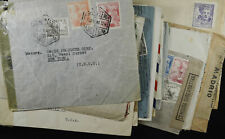 Espana 16 WWII Era Covers Healthy Mix of Censored Examined Letters See Pics