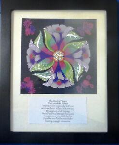 Healing Flower Mandala Framed Print Sister Therese Carondelet Artists Mandrake
