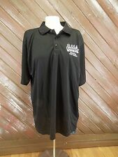 Inaugural Golf Classic Shirt Polo Black Eddy's Bar & Grill PlayDry L NWT