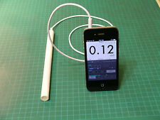 Geiger Counter/Radiation Detector, earphone, iPhone/Android/PC compatible