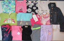 NWT Girls Fall Clothes Lot Size 7 7/8 Outfits Top Jeans Pants Hoodie Jean Jacket