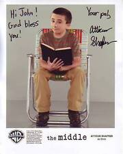 ATTICUS SHAFFER Autographed Signed THE MIDDLE BRICK Photograph - To John