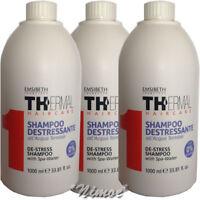 De-stress Shampoo 3 x 1000ml 1TH with Spa Water Thermal Emsibeth ® Destressante