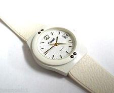 Reloj pulsera dama ODENIA QUARTZ Original fecha blanco Nuevo