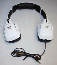 WHITE Tritton Kunai Universal Stereo Gaming Headset Headpone Only No Microphone