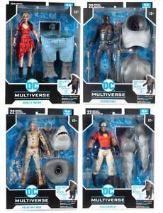 McFarlane DC Multiverse SUICIDE SQUAD KING SHARK BAF Full Set IN STOCK!