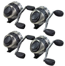 (Lot Of 4) Zebco 33 Tactical 33Ktac Spincasting Reel No Box W/ 10Lb Line