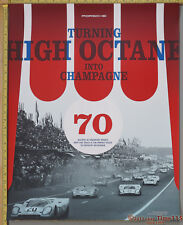 """FreShip High Octane into Champage 917 Factory Showroom Poster Original 28"""" x 22"""""""
