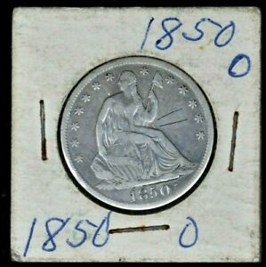 1850-O 50C Liberty Seated Half Dollar 99c NO RESERVE  Witter Coin